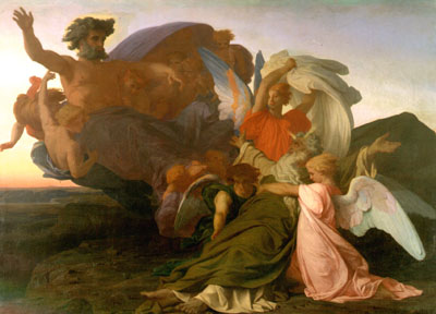 Death of Moses 1851 | alexandre cabanel | Oil Painting