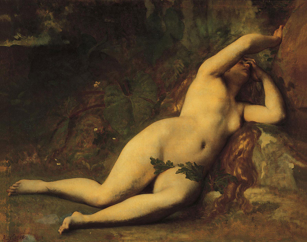 Eve After the Fall | alexandre cabanel | Oil Painting