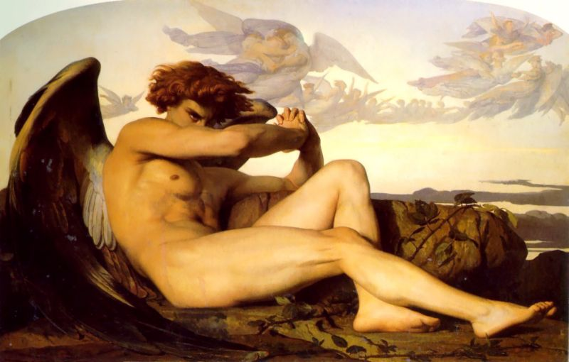 Fallen Angel | alexandre cabanel | Oil Painting
