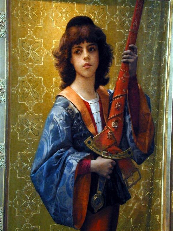 Paige | alexandre cabanel | Oil Painting