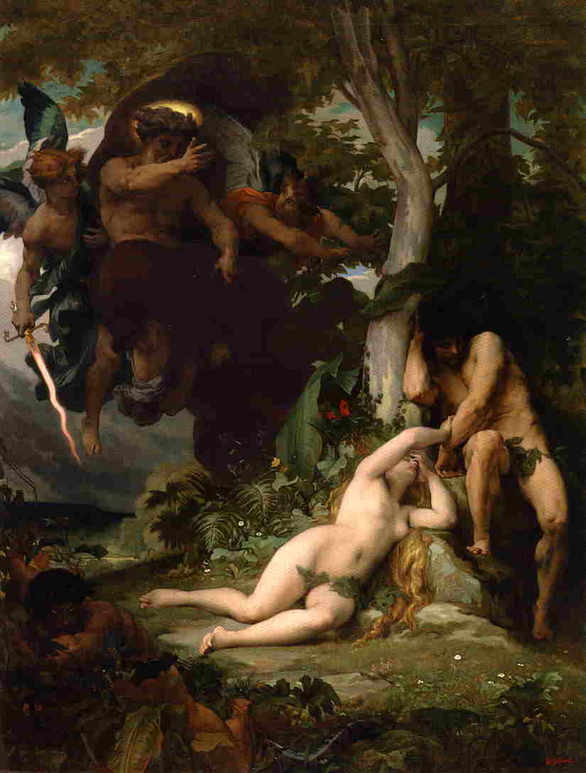 Paradise Lost 1867 | alexandre cabanel | Oil Painting