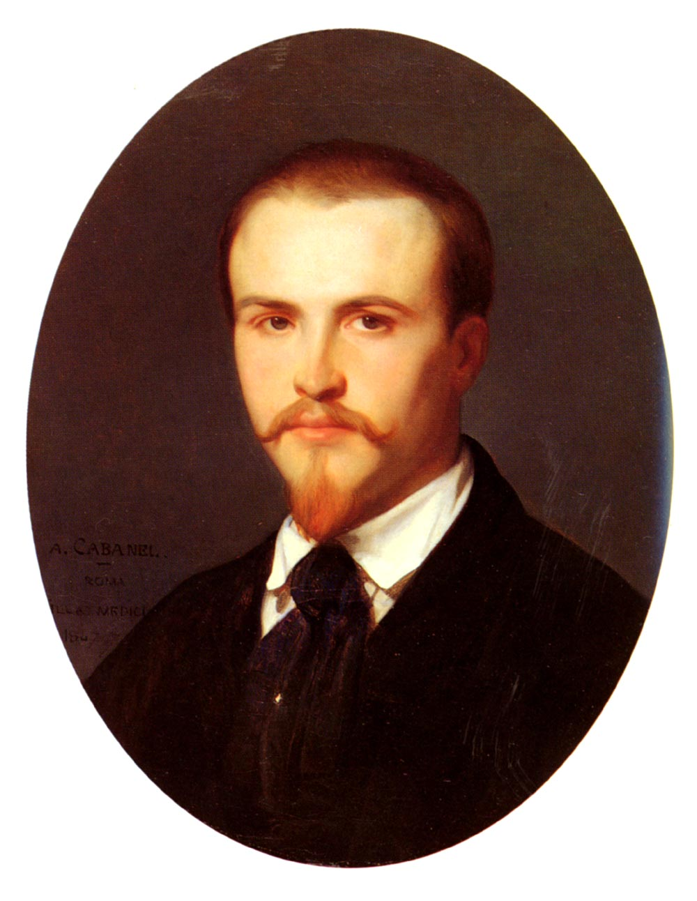 Self Portrait 1847 | alexandre cabanel | Oil Painting