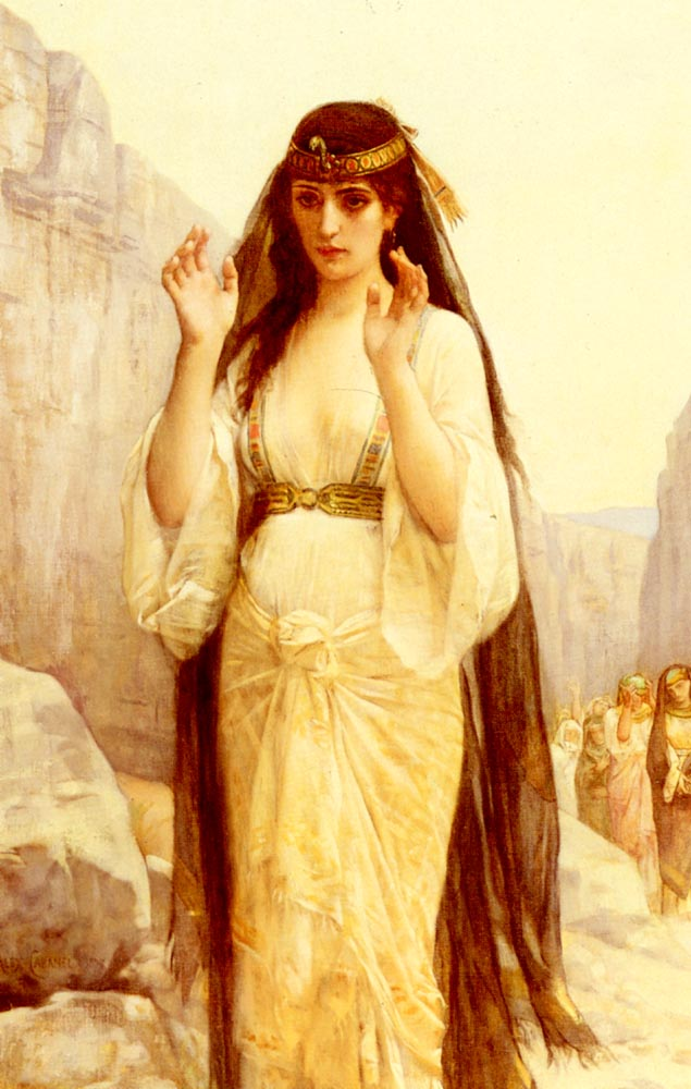 The Daughter Of Jephthah 1879 | alexandre cabanel | Oil Painting