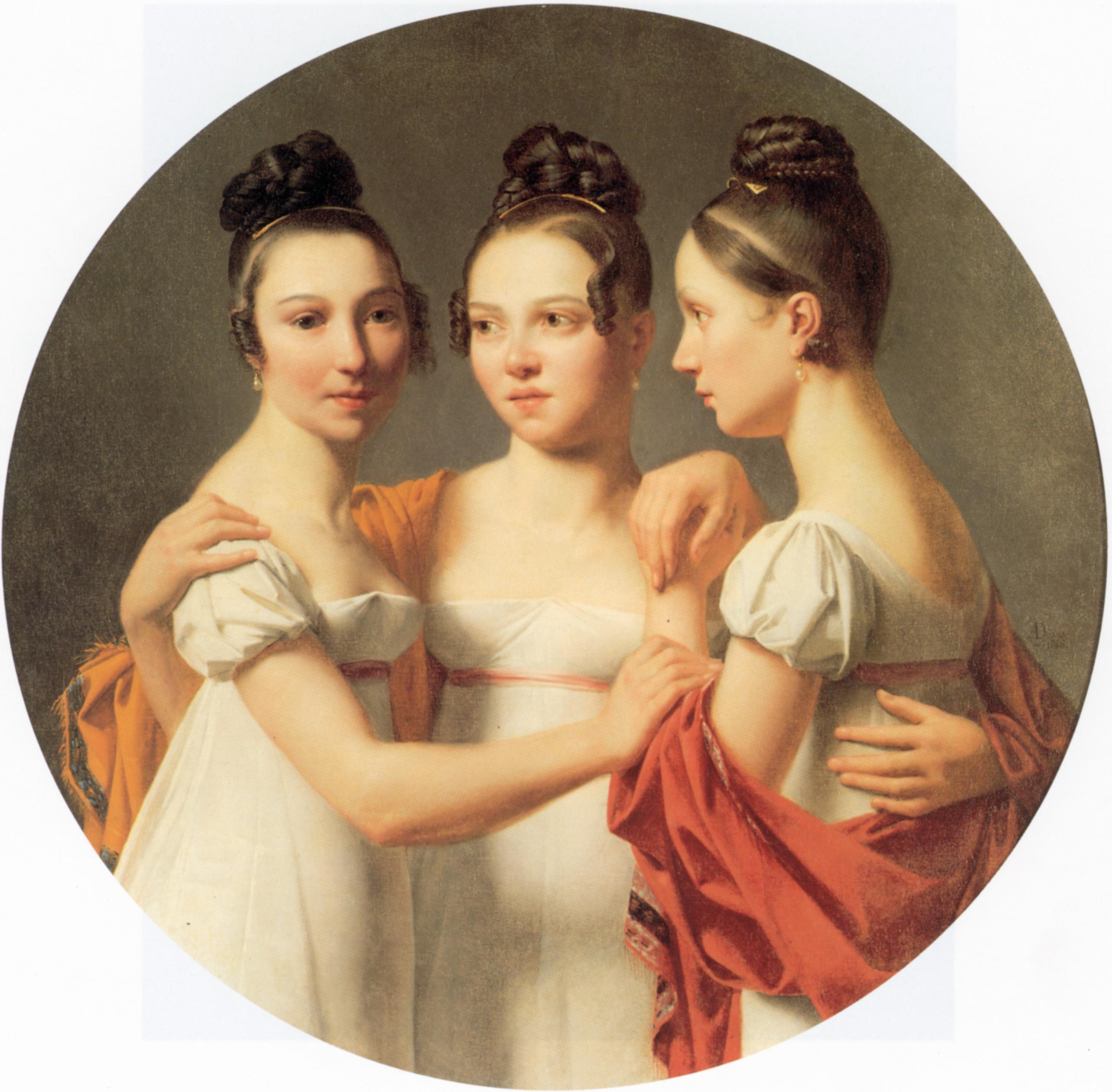 Le Trois Graces | Gustave Doyen | Oil Painting