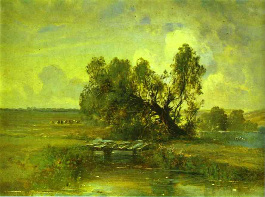After A Thunderstorm 1870s | Alexey Savrasov | Oil Painting
