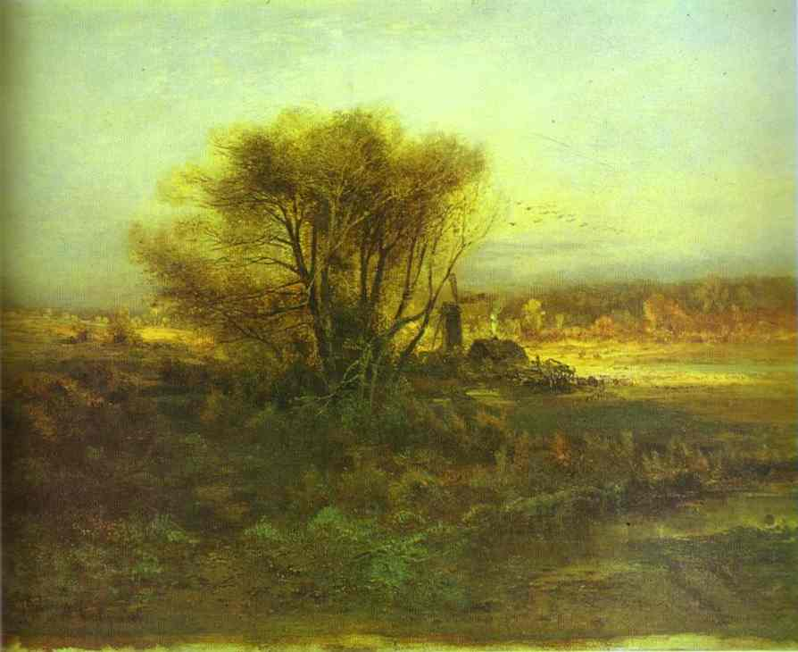 Autumn 1871 | Alexey Savrasov | Oil Painting