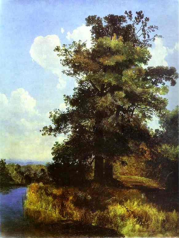 Oaks 1855 | Alexey Savrasov | Oil Painting
