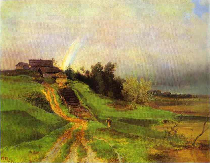 Rainbow 1875 | Alexey Savrasov | Oil Painting