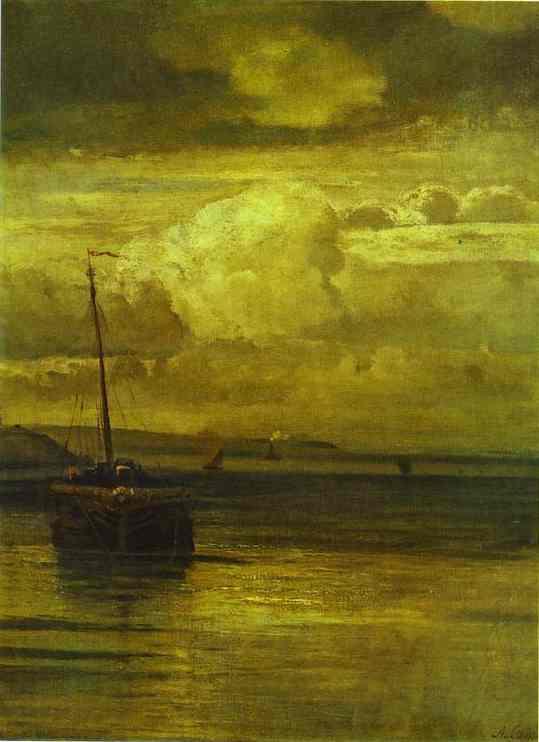 Volga Landscape 1870s | Alexey Savrasov | Oil Painting