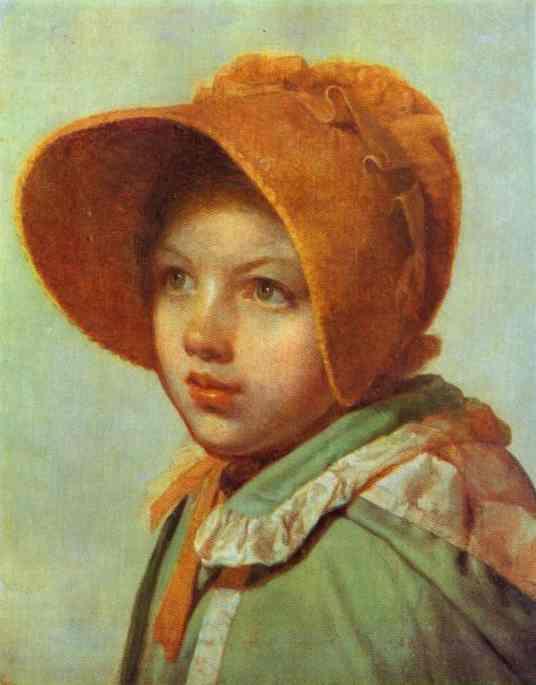 Portrait Of Aa Venetsianova 1825-1826 | Alexey Venetsianov | Oil Painting