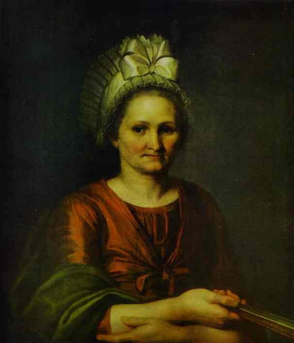 Portrait Of Artists Mother 1801 | Alexey Venetsianov | Oil Painting