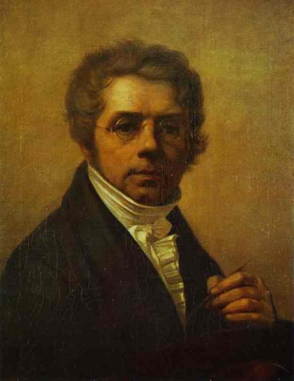Self Portrait 1811   Alexey Venetsianov   Oil Painting