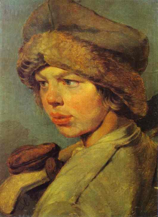Zakharka 1825 | Alexey Venetsianov | Oil Painting