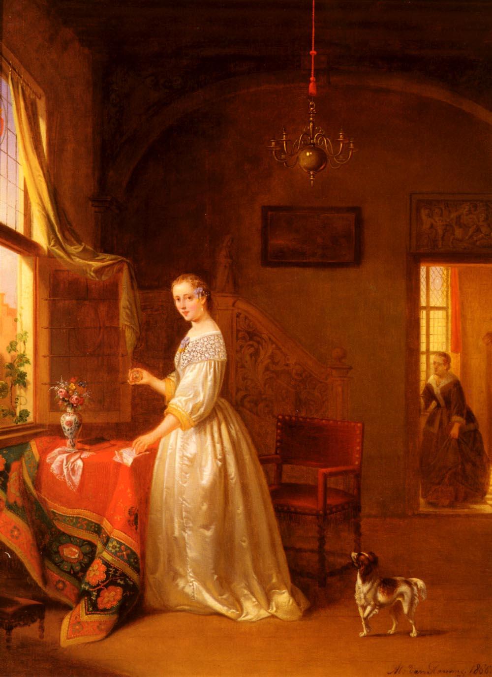Tokens Of Love | Alexis Van Hamme | Oil Painting