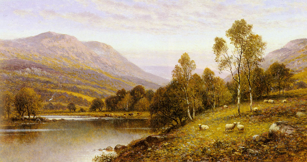Augustus Early Evening Cumbria | Alfred Glendening | Oil Painting