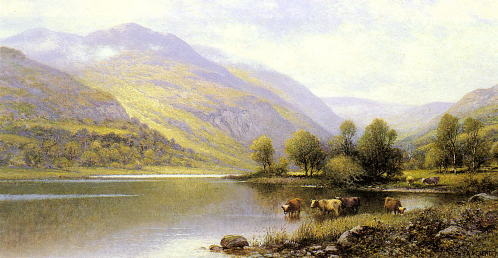 Augustus Near Capel Curig North Wales | Alfred Glendening | Oil Painting