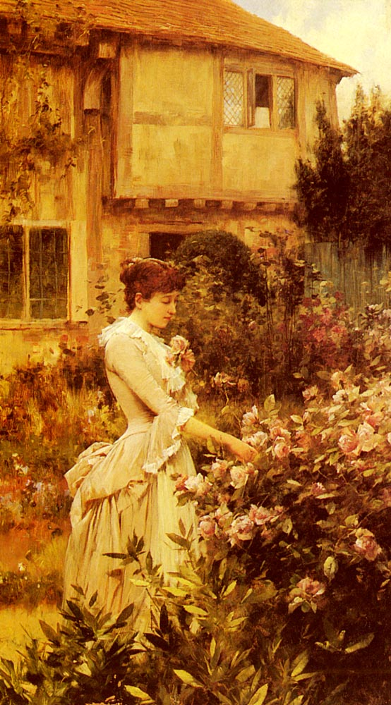 A Labour Of Love | Alfred Glendening | Oil Painting