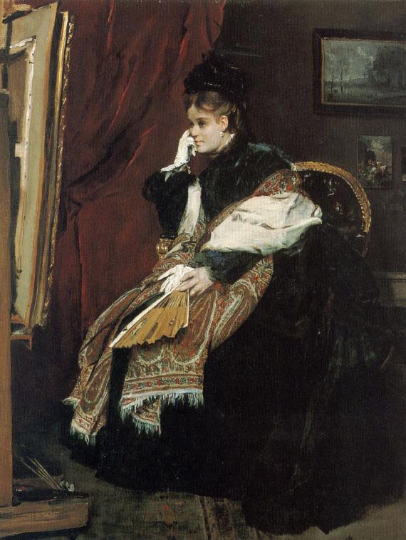 La Douloureuse Certitude | Alfred Stevens | Oil Painting