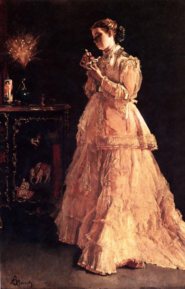 Stevens 1 | Alfred Stevens | Oil Painting