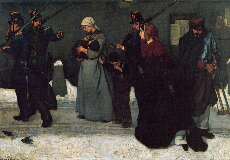 What is Called Vagrancy | Alfred Stevens | Oil Painting