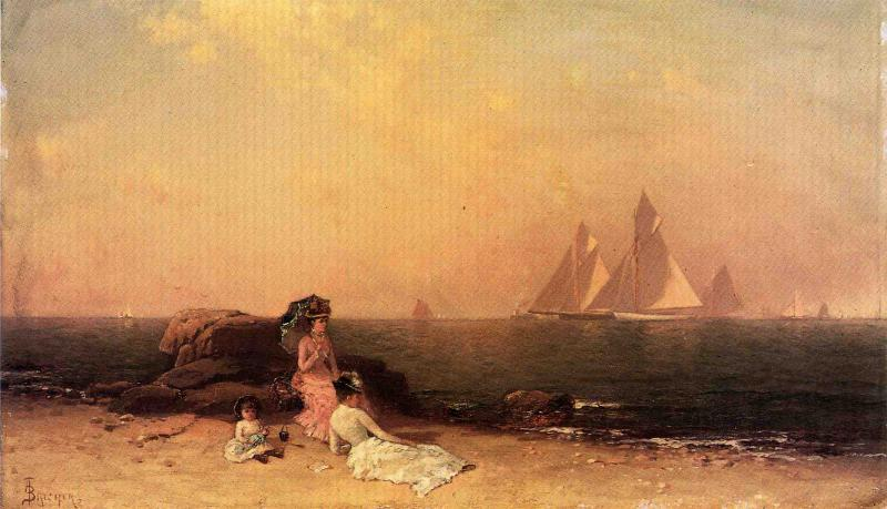 Afternoon at the Shore | Alfred Thompson Bricher | Oil Painting