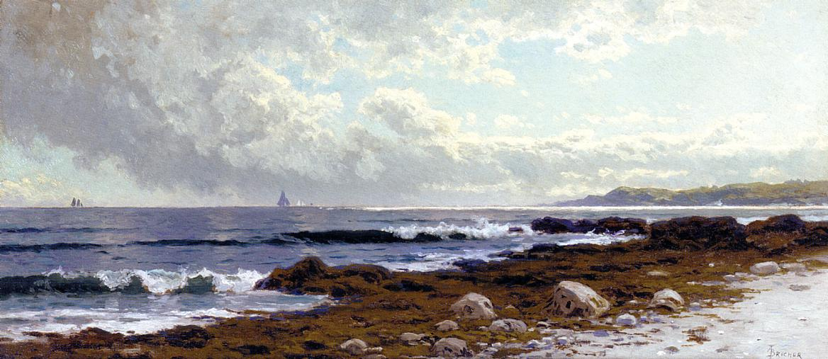Along the Coast | Alfred Thompson Bricher | Oil Painting