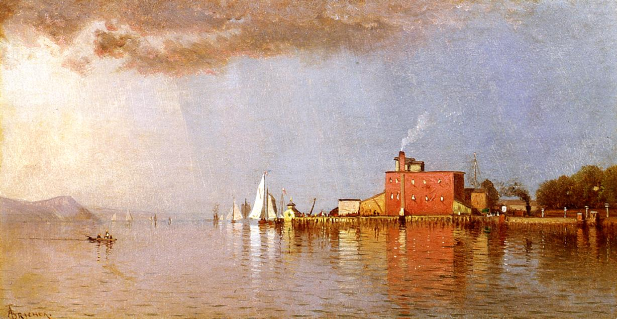 Along the Hudson | Alfred Thompson Bricher | Oil Painting