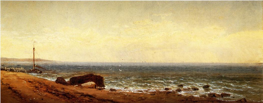 Along the Shore | Alfred Thompson Bricher | Oil Painting