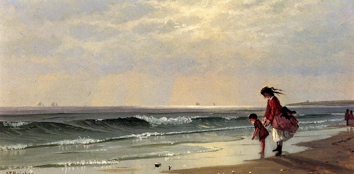 At the Shore 1871 | Alfred Thompson Bricher | Oil Painting