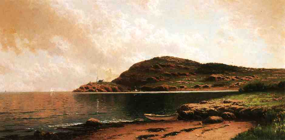 Beached Rowboat | Alfred Thompson Bricher | Oil Painting