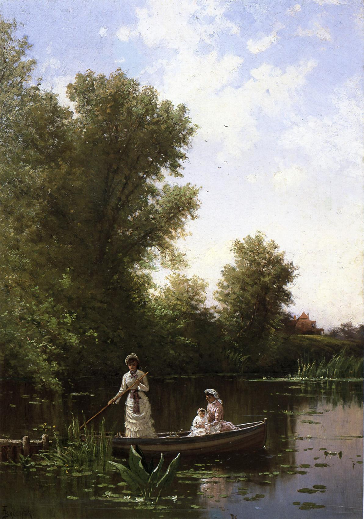 Boating in the Afternoon 1886 | Alfred Thompson Bricher | Oil Painting