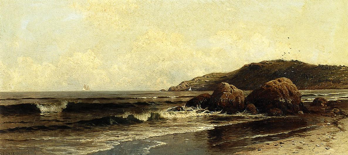 Breaking Surf 2 | Alfred Thompson Bricher | Oil Painting