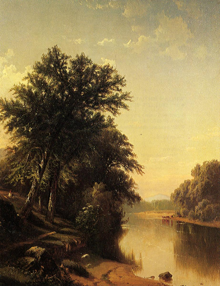 By the River | Alfred Thompson Bricher | Oil Painting