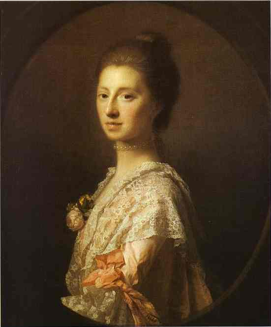 Portrait Of Anne Bruce Mrs Bruce Of Arnot 1765 | Allan Ramsay | Oil Painting