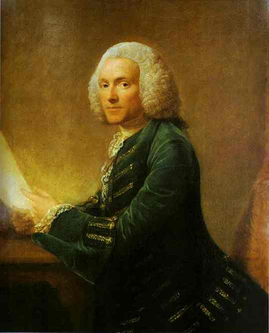 Portrait Of Dr William Hunter 1760 | Allan Ramsay | Oil Painting