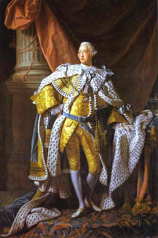 Portrait Of George III 1760-61 | Allan Ramsay | Oil Painting