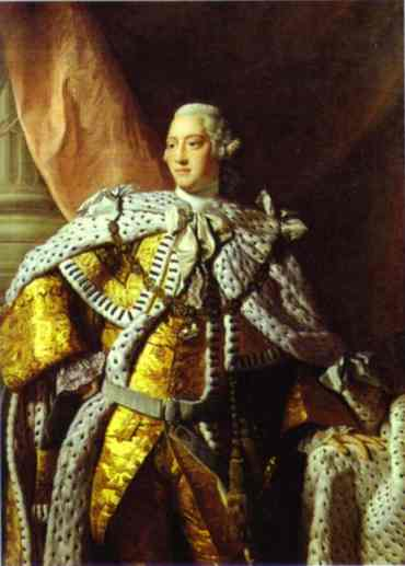 Portrait Of George III 1767 | Allan Ramsay | Oil Painting