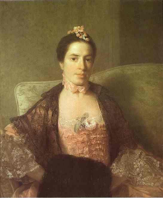 Portrait Of Martha Countess Of Elgin 1762 | Allan Ramsay | Oil Painting