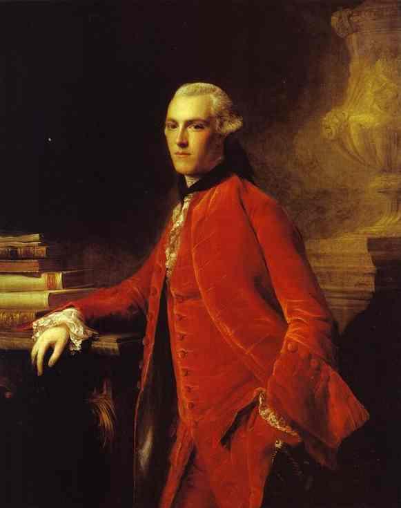 Portrait Of William Colyear Viscount Milsington 1964 | Allan Ramsay | Oil Painting