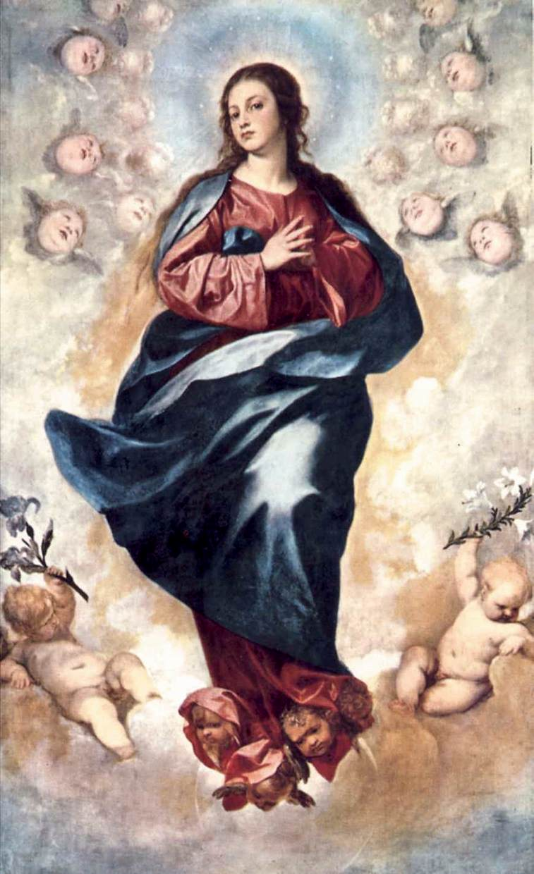 Immaculate Conception 1648   Alonso Cano   Oil Painting