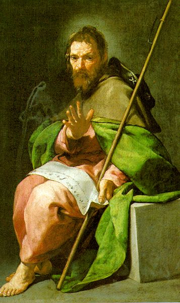 St James The Greater 1635 | Alonso Cano | Oil Painting