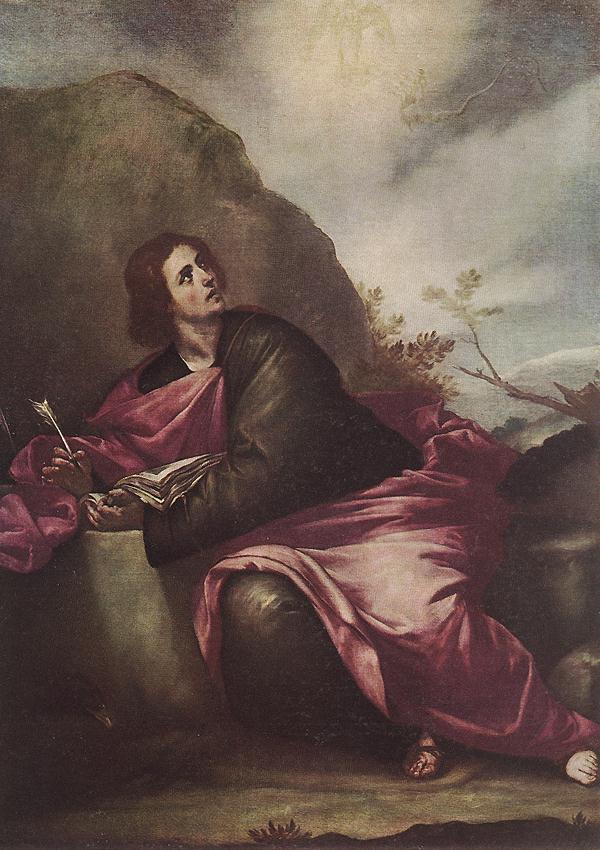 St John The Evangelist On Pathmos 1646-50 | Alonso Cano | Oil Painting