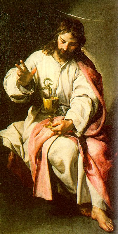 St John The Evangelist With The Poisoned Cup 2 1636 | Alonso Cano | Oil Painting