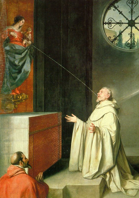 The Vision Of St Bernard 1650 | Alonso Cano | Oil Painting