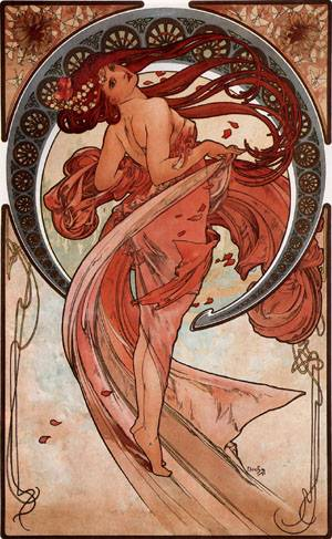 Dance 1898 | Alphonse Mucha | Oil Painting