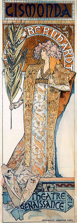 Gismonda 1894 | Alphonse Mucha | Oil Painting