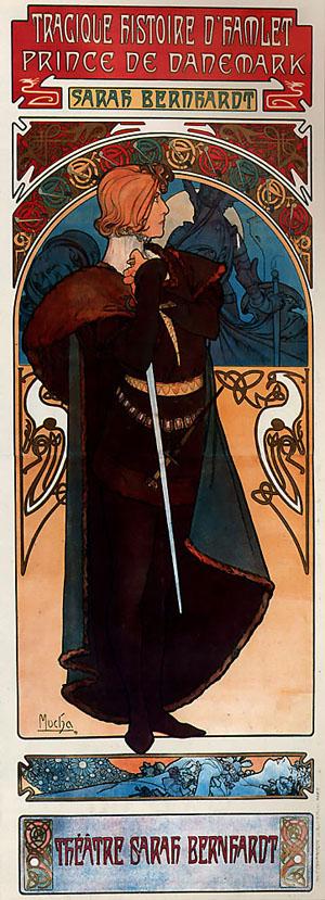 Hamlet 1899 | Alphonse Mucha | Oil Painting