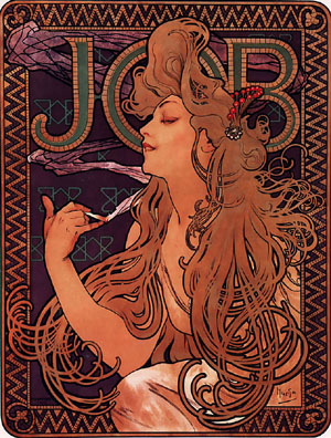 JOB 1896 | Alphonse Mucha | Oil Painting
