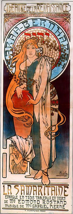 La Samarataine 1897 | Alphonse Mucha | Oil Painting