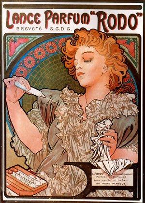 Lance-Parfum Rodo 1896 | Alphonse Mucha | Oil Painting